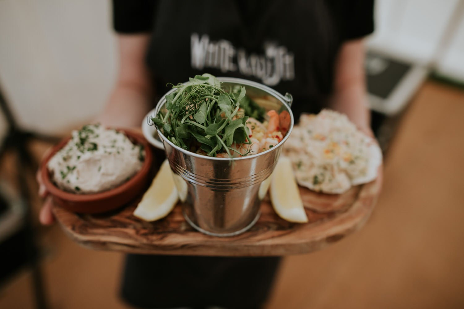 wedding catering with fresh food