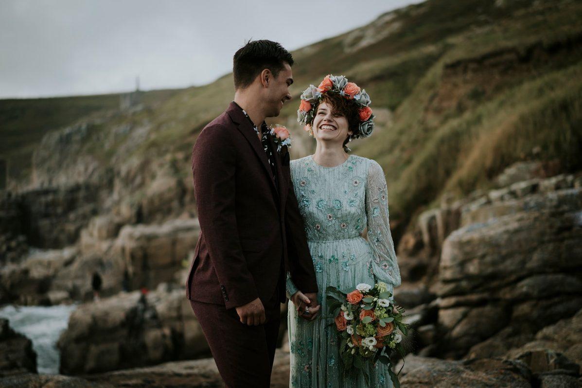 Elopement Wedding in Cornwall